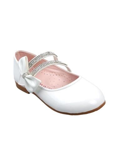 Sema Kız Çocuk Günlük Babet Ayakkabı Beyaz